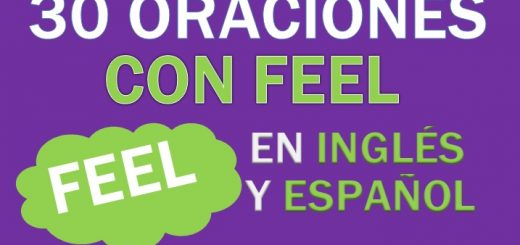 Oraciones Con Feel En Inglés