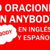 30 Oraciones Con Anybody En Inglés ✔ Frases Con Anybody Fáciles ⚡